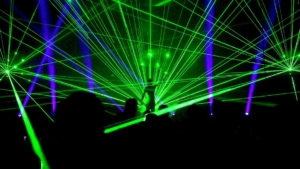 Lasershow LED-Show Münster